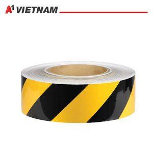 băng dính dán nền vàng đen 47mmx20y chính hãng ,giá tốt nhất
