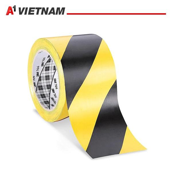 băng dính dán nền vàng đen 50mmx33m chính hãng ,giá tốt nhất