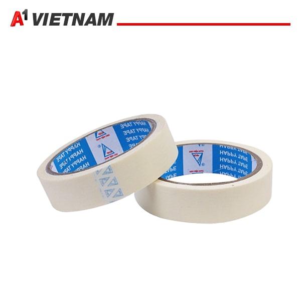 băng dính giấy trắng 2.5cm chính hãng ,giá tốt nhất