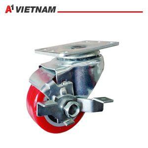 bánh xe xoay 2040S A1PVC (có khóa) chính hãng ,giá tốt nhất