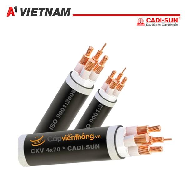 cáp điện CXV 3x10+1x6 CDS chính hãng tại Việt Nam ,giá tốt nhất