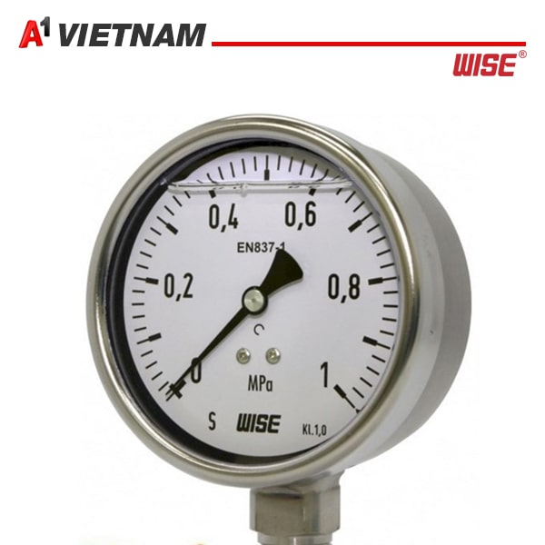 đồng hồ đo áp suất Wise EN 837 1F P252 chính hãng tại Việt Nam ,giá tốt nhất