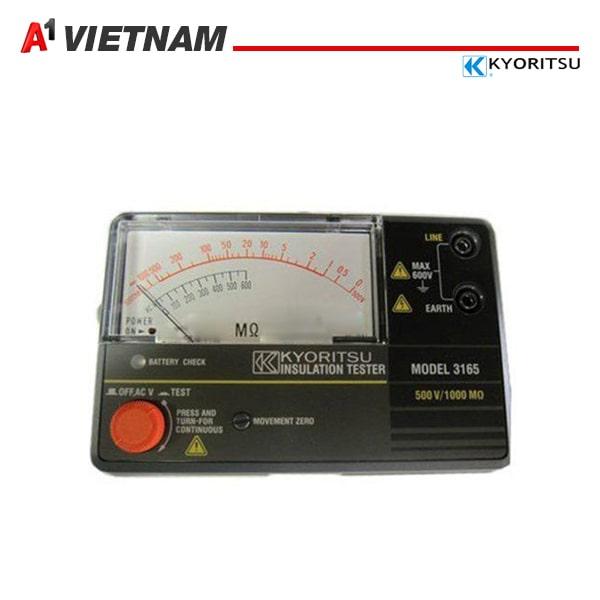 đồng hồ đo điện trở cách điện Kyoritsu 3165 500V chính hãng tại Việt Nam ,giá tốt nhất