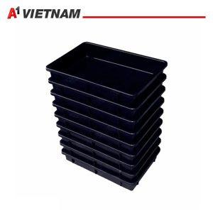 khay đựng linh kiện chống tĩnh điện màu đen 125x110x60mm chính hãng giá tốt