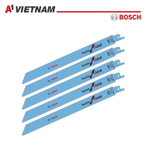 lưỡi cưa kiếm Bosch S 1122 BF-Sắt (vỉ 5 lưỡi) chính hãng tại Việt Nam ,giá tốt nhất
