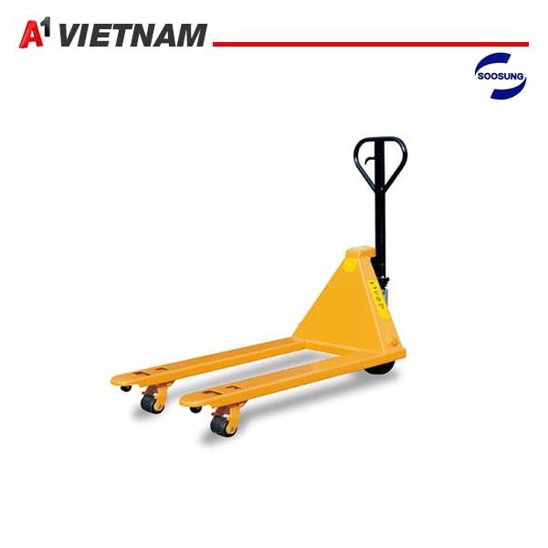 xe nâng tay soosung 2.5 tấn chính hãng giá tốt