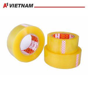 băng dính trong vàng chanh 48mmx50micx100Ya chính hãng giá tốt