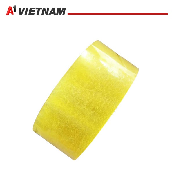 băng dính trong vàng chanh 48mmx50micx200Ya chính hãng giá tốt