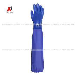 găng tay chống hóa chất Takumi PVC-600X